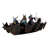 Battle Canoe