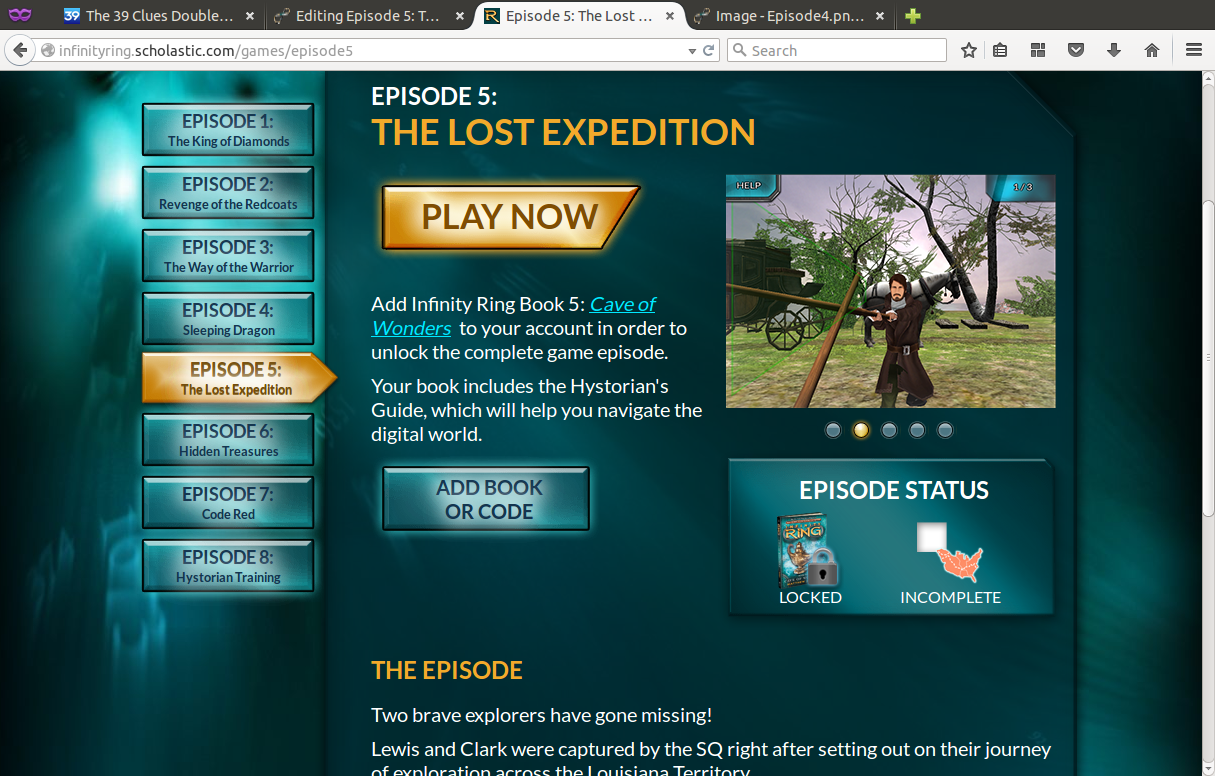 Episode 5: The Lost Expedition | Hystorian Wikia | FANDOM powered by