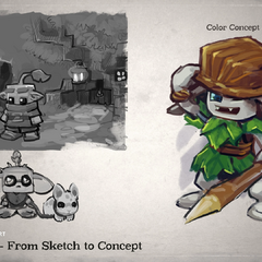 Kweebec concept art shown in <a rel=