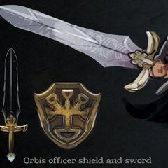 Miecz i Tarcza <i>Oficera Orbis</i>.