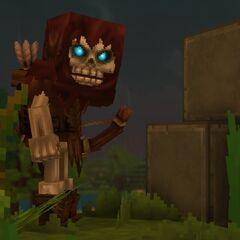 A skeleton archer in zone 1.