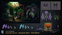 Void spider concept art