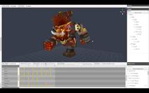 Trork Running animation