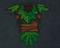 Leaf Armor Concept art