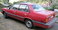 Hyundai Stellar 1986 red Sweden