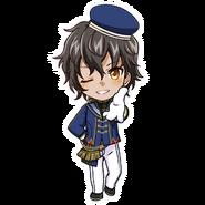 (3rd Anniversary Scout) Akira Mitsurugi SD Kiss