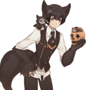 (Halloween Scout) Eva Armstrong LE Transparent