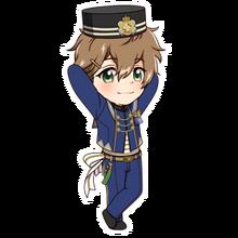 (3rd Anniversary Scout) Futami Akabane SD Pose