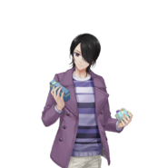 (White Day Scout) Akio Tobikura SR Transparent