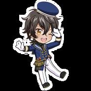 (3rd Anniversary Scout) Akira Mitsurugi SD Jump