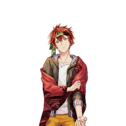 (Second Batch) Tatsumi Madarao R Transparent