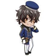 (3rd Anniversary Scout) Akira Mitsurugi SD Pose