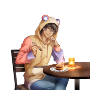 (1st Birthday Scout) Akira Mitsurugi GR Transparent
