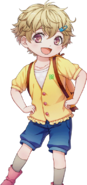 (Summer-colored Happy Smile) Akari Tori N Transparent