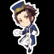 (3rd Anniversary Scout) Tsubaki Rindo SD Jump