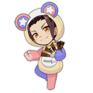 (Kumakocho Costume) Tsubaki Rindo SD Jump