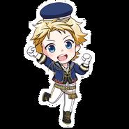 (3rd Anniversary Scout) Seiya Aido SD Jump