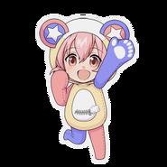 (Kumakocho Costume) Kyosuke Momoi SD Jump