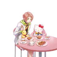 (I-Chu x Hello Kitty Scout) Kanata Minato LE Transparent
