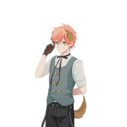 (Animal Teahouse Scout) Leon UR Transparent