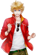 Seiya Aido R Transparent