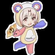 (Kumakocho Costume) Toya Honoki SD Jump