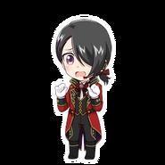 (Valentine's Day 2018 Scout) Akio Tobikura SD Pose
