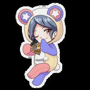 (Kumakocho Costume) Aoi Kakitsubata SD Jump