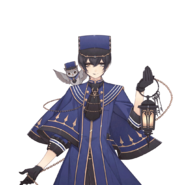 (3rd Anniversary Scout) Eva Armstrong GR Transparent