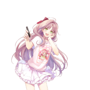 (2nd Birthday Scout) Kokoro Hanabusa GR Transparent