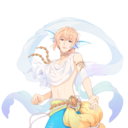 (Mermaid Scout) Noah UR Transparent