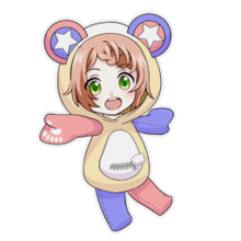 (Kumakocho Costume) Kanata Minato SD Jump