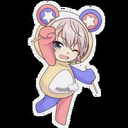 (Kumakocho Costume) Rabi SD Jump