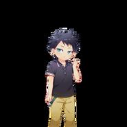 (Tenka wakeme no Tristar) Keji Inuyama N Transparent