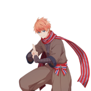 (Children's Day Scout) Leon UR Transparent