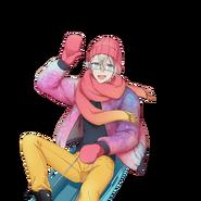 (Snowy Day Scout) Satsuki Kururugi SR Transparent