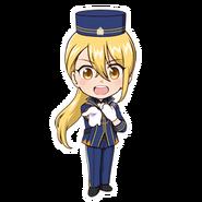 (3rd Anniversary Scout) Hikaru Orihara SD Pose