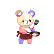 R Skill Kuma Transparent