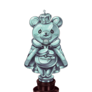R Coin Kuma Transparent