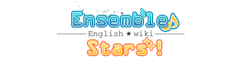 Ensemble Stars wiki wordmark
