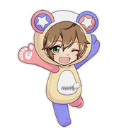 (Kumakocho Costume) Futami Akabane SD Jump