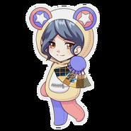 (Kumakocho Costume) Aoi Kakitsubata SD Pose