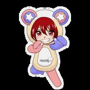 (Kumakocho Costume) Torahiko Kusakabe SD Jump