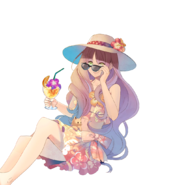 (Vacation Scout) Kokoro Hanabusa LE Transparent
