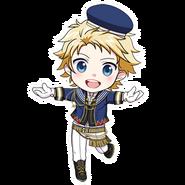 (3rd Anniversary Scout) Seiya Aido SD Kiss