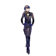 (QA Scout) Aoi Kakitsubata Fullbody