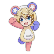 (Kumakocho Costume) Seiya Aido SD Jump