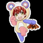 (Kumakocho Costume) Tatsumi Madarao SD Jump