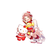 (I-Chu x Hello Kitty Scout) Kanata Minato GR Transparent