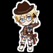(Valentine's Day 2019 Scout) Seiya Aido SD Pose